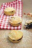 Small pie with fruit stock photos