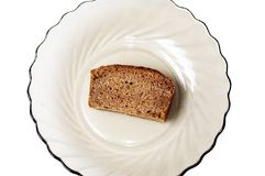 Small piece of bread Royalty Free Stock Photo