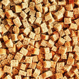 Small pieces dried bread Stock Photo