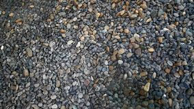 River Gravels Background. Small pieces of Gravels background Royalty Free Stock Photography