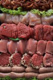 Small pieces of meat Royalty Free Stock Photo