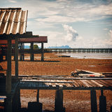 Small Pier Royalty Free Stock Image
