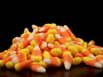 Small Pile of Candy Corn Royalty Free Stock Images