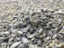 Granite, gravel texture, close-up. stock photography