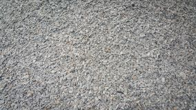 Small piles of limestone for use in lime kiln line . Limestone gravel background Texture stock photo