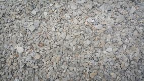 Small piles of limestone for use in lime kiln line . Limestone gravel background Texture stock images