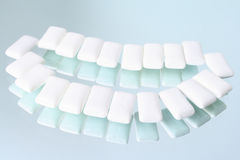 Small pillows of a chewing elastic band Stock Images