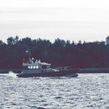 Small pilot ship Stock Photography