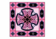 Small pink carpet Stock Photos