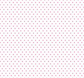 Small pink Polkadots, white Background, Seamless pattern for kids .Baby shower decoration background. stock illustration