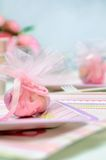 Small pink present Royalty Free Stock Photo