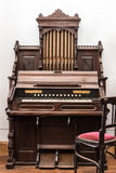 Small Pipe Organ. Music Instrument royalty free stock image