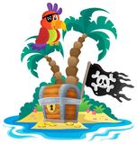 Small pirate island theme 1 Stock Photo