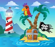 Small pirate island theme 3 Royalty Free Stock Photos