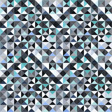 Small pixels abstract geometric seamless pattern vector illustration Stock Image