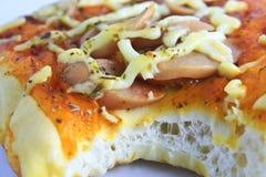 Small pizza. Royalty Free Stock Photo