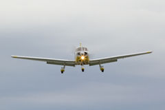 Small plane. A small plane on approach Royalty Free Stock Image