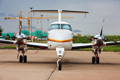 Small plane Royalty Free Stock Photography