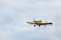 Small plane for agriculture Stock Photography