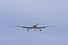 Small plane on approach Royalty Free Stock Photography