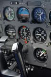 Small plane cockpit Royalty Free Stock Photo