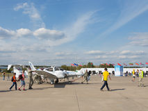 Small plane Royalty Free Stock Photo