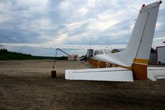 Small plane Royalty Free Stock Photos
