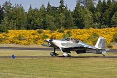 Small Plane Pilot stock photo
