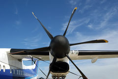 Small plane propeller Royalty Free Stock Image