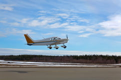 Small Plane Taking Off Royalty Free Stock Images