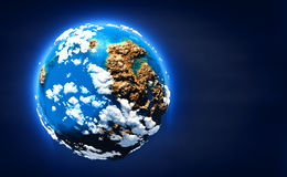 Small planet royalty free illustration