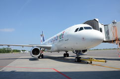 Small Planet Airlines Royalty Free Stock Photos