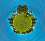 LITTLE PLANET Royalty Free Stock Photos