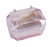 Small plastic box Stock Photo