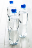 Small plastic water bottle. Stock Photo