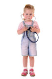 Small playful doctor Royalty Free Stock Photography