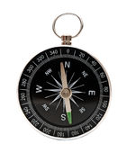 Small pocket compass Royalty Free Stock Images