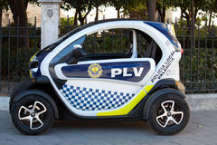 Small Police Car Royalty Free Stock Image