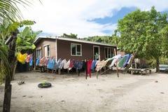 Small Polynesian Home Stock Photos