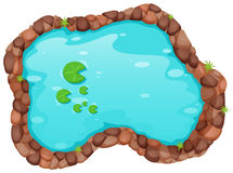 Free Small Pond Stock Image - 57355121