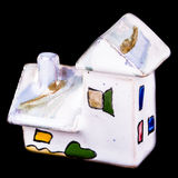 Small Porcelain house Royalty Free Stock Image