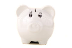Small porcelain pig Stock Photos