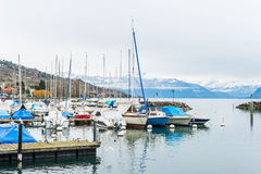 Small port Royalty Free Stock Images