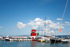 The Small Port Of Punta Ala, Tuscany, Italy Royalty Free Stock Images