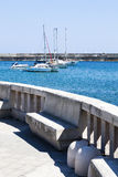 Small port of Santa Maria di Leuca, southern Italy. Royalty Free Stock Image
