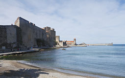 Small port in the south of france Stock Photography