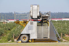 Small, Portable Fruit Picking Machine Stock Photography