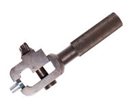 Small portable vise Royalty Free Stock Image