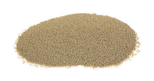 Small portion organic active dry yeast Stock Photography