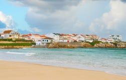 Portugese coastal town . Baleal Royalty Free Stock Images